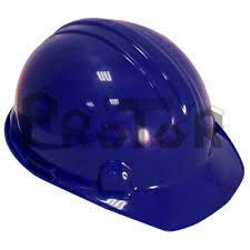 Casco dielectrico azul